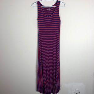 Vineyard Vines Striped Casual Maxi Dress XXS